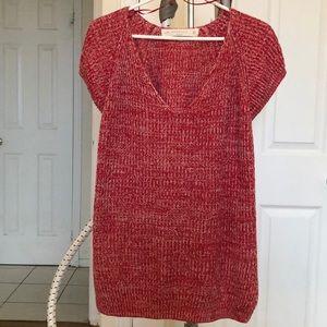 Zara short sleeve flowy sweater